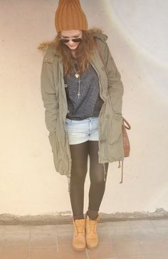 outfits to wear with timberlands - Google Search