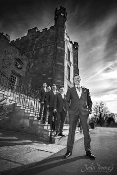 JJ the groom at Lumley Castle