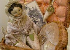 Sweet sewing doll by Nicol Sayre