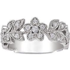 Jasmine Ring (1/2 ct.tw.) | brilliantearth.com (Top View People)