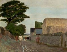 Driving up to Milk  Arthur Hawksley (1842–1915)  Nottingham Castle Museum and Art Gallery