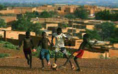 street #soccer in #Niamey #Niger