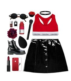 """""""Cherry 🍒"""" by mode-222 ❤ liked on Polyvore featuring Calvin Klein Underwear, Veil London, Twin-Set, beautyblender, NARS Cosmetics, Gucci, Lynn Ban, Kilian and Christian Dior"""