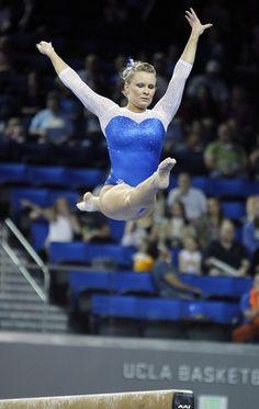 Bridget Sloan 2013 NCAA Championships Team. Olympic Gymnast & 2009 World All Around Champion.