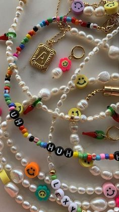 Trendy Jewelry, Summer Jewelry, Cute Jewelry, Diy Jewelry, Jewelery, Jewelry Accessories, Handmade Jewelry, Jewelry Making, Beaded Jewelry Designs
