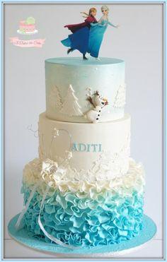 Dreamy Frozen by Jo Finlayson (Jo Takes the Cake)