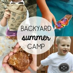 Do-It-Yourself Backyard Summer Camp... An amazing program filled with fun activities to enjoy with your little ones this summer! Sign up today.