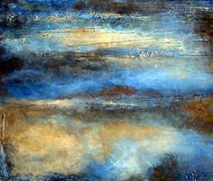 Art Print of Earth Tone Large Abstract art by HollyAndersonFineArt