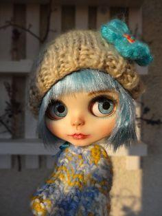 OOAK Blythe doll, Hope Custom art blythe doll by janasOOAKblytheDolls, panenky