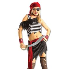 now on sale teen pirate girl costume the coolest pirate themed costume for teenagers - Teenage Girl Pirate Halloween Costumes