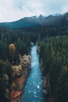 Lower Lewis Falls, Norway // Desvre
