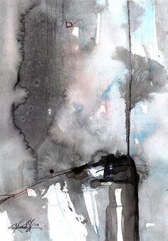 Brush Journey  No 4  by Kathy Morton Stanion