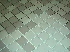 ♥ Spring Cleaning Recipe for the Grout ♥   7 cups water, 1/2 cup baking soda, 1/3 cup lemon juice and 1/4 cup vinegar - throw in a spray bottle and spray your floor, let it sit for a minute or two... then scrub ♥