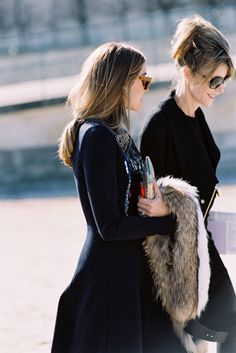 Paris Fashion Week AW 2015....Olivia