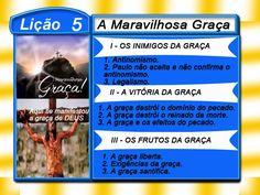 Comentário sobre a lição 05: A Maravilhosa Graça, elaborado pelo Ev. Luiz Henrique.