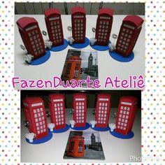 Cabine telefonica com porta recado