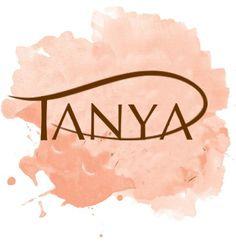 """Tanya"" typography"