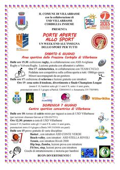 Porte aperte allo Sport - Villarbasse