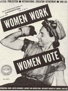 Women Work Women Vote