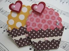 Handmade by me. Diy Crafts For Girls, Card Making Tutorials, Candy Cards, Scrapbook Embellishments, Birthday Cards, Cupcake Birthday, 90th Birthday, Birthday Gifts, Paper Cards