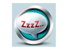 Sleep icon - Czech Point System by Petr | Direct-services