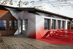 Audi Quattro Festkogl Ski Lodge in the Alps