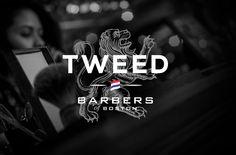 Tweed Barbers Logo Design.