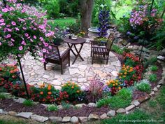 Image result for circular raised bed planter
