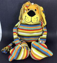 "Melissa Doug BeePosh Elvis Lion Striped Plush Soft Stuffed Toy Animal Large 25"" #MelissaDoug"