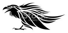 Raven Royalty Free Stock Vector Art Illustration