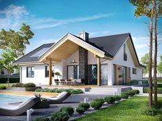 DOM.PL™ - Projekt domu AC Simon G2 CE - DOM AF8-22 - gotowy projekt domu