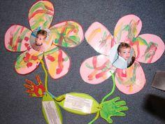 papieren bloemen maken met kleuters - Google zoeken