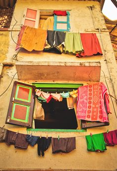 Laundry Day - Mumbai, India