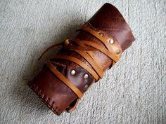 Amazon's Bracer -- tribal fusion belly dance amazon larp barbarian apocalyptic black