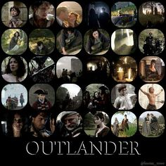 Scenes from the outlander trailer.  Thank you Louisa Rowe.