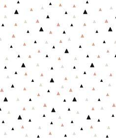 Lé de Papier peint Petits Triangles