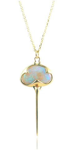 def2c26c128 A one of a kind opal necklace by Rachel Atherley Opal Jewelry