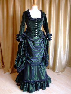 """Steampunk-Mode - Gründerzeit Kostüm """"Betty"""" - ein Designerstück von steampunk-decadence bei DaWanda"""