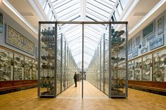 The 'Ceramic Galleries' at the Victoria & Albert Museum designed by Opera Amsterdam