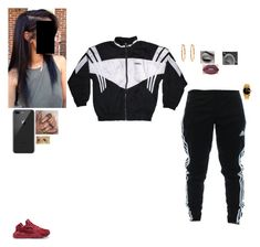 New Freezer by ohsnapitzchasy on Polyvore featuring polyvore fashion style adidas NIKE Rolex Gucci Lime Crime clothing