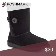 Suede Faux Fur Boots! Brand New!! Suede Faux Fur Boots! Great for this winter!! Size 6 Sonoma Shoes Winter & Rain Boots