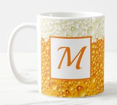 Shop Personalized Beer Design Mug created by TheDigitalConsultant. Treat Yourself, Make It Yourself, Mugs For Sale, Beer Gifts, Mug Designs, Photo Mugs, Microwave, Dishwasher, Create Your Own