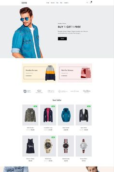 """Coro is a clean, minimal, creative and modern eCommerce theme for WordPress platform. Powered by WordPress' most popular eCommerce platform """"WooCommerce"""", Coro can be the too Web Developer Portfolio Website, Ecommerce Website Design, Ecommerce Websites, Minimal Web Design, Ui Design, Landing Page Design, Wordpress Theme Design, Website Design Inspiration, Popular"""