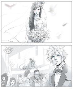 Final Fantasy Cloud, Final Fantasy Characters, Final Fantasy Artwork, Final Fantasy Vii Remake, Fantasy Series, Fantasy World, Cloud And Tifa, Cloud Strife, Arte Cyberpunk