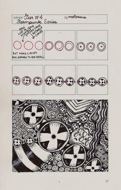 Life Imitates Doodles: steampunk Pattern: Geer #4