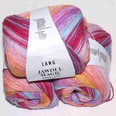 Jawoll Magic 6-fach Frühling Lang Yarns - Heikes Handgewebtes: Traumhafte Wolle für Socken und noch viel mehr - dreamlike wool for socks and much more