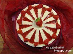 Na ezt süsd ki!: Epres mascarpone torta Zila formában