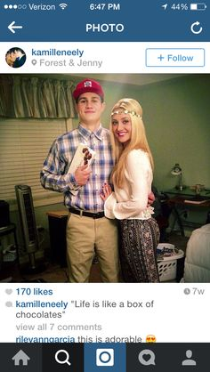 Forest Gump and Jenny