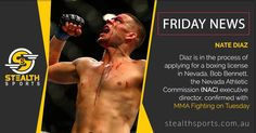 Nate Diaz Friday News, Nate Diaz, Mma Fighting, How To Apply, Wrestling, Athletic, Sports, Lucha Libre, Hs Sports