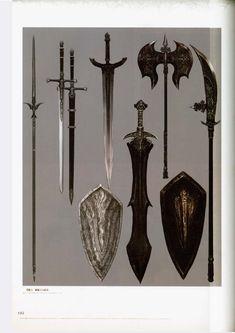 Dark Souls Art, Dark Art, Silver Knight, Knight Sword, Sword Design, Medieval Weapons, Weapon Concept Art, Soul Art, Painted Books